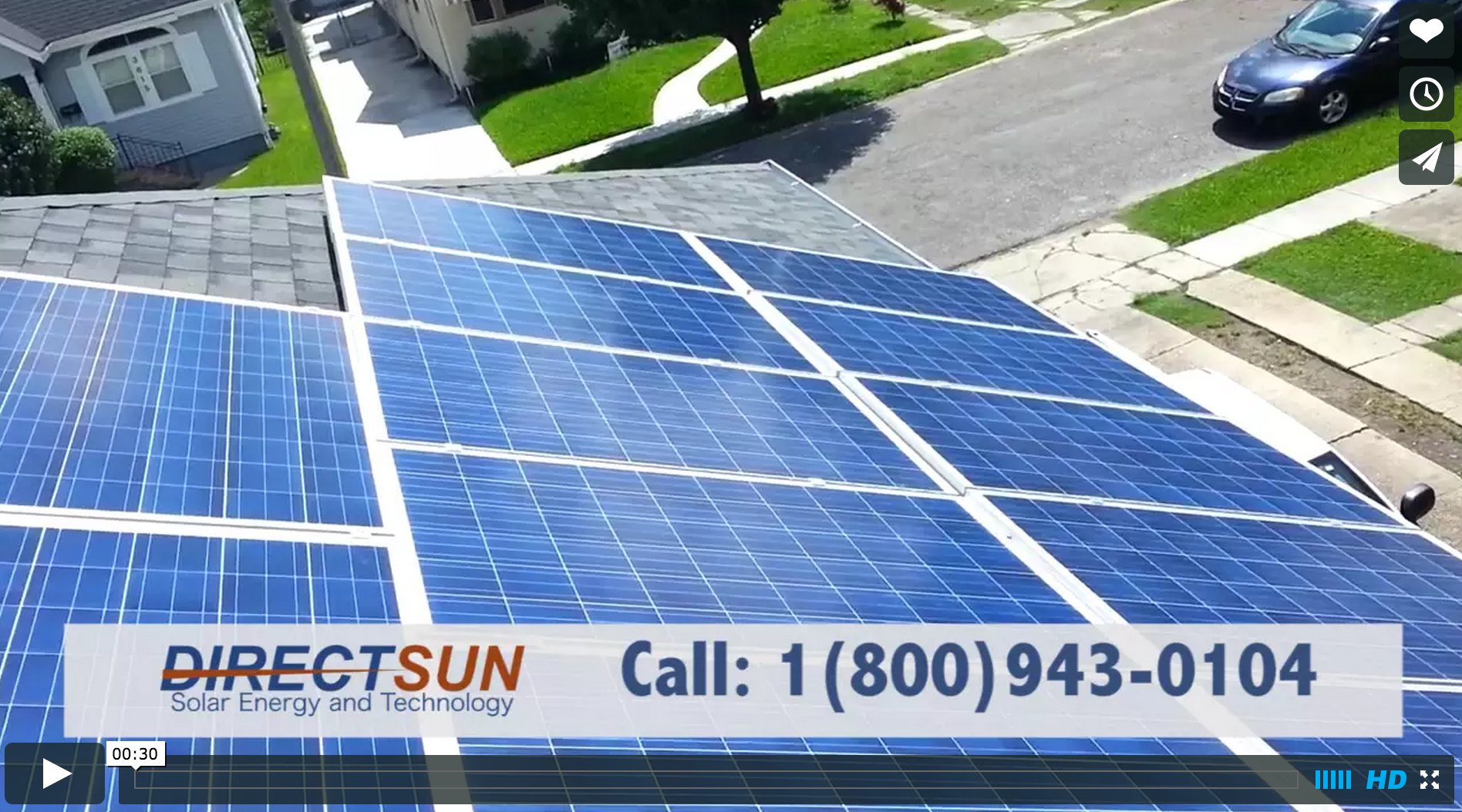 DirectSun Solar Energy and Technology (45KW 30sec)